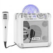 iDance Party Cube BC10 Bluetooth-Sound-System LED-Lichteffekt 50W USB AUX