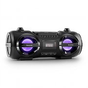 Auna Soundblaster M Radioodtwarzacz Bluetooth 3.0 CD/MP3/USB UKF efekt LED 50W RMS