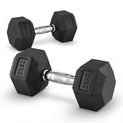 Capital sports Hexbell Dumbbell hantle krótkie para 25kg
