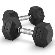 Capital sports Hexbell Dumbbell hantle krótkie para 30kg
