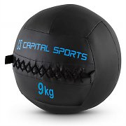 Capital Sports Epitomer Set Wall Ball 9kg Kunstleder 5 Stück schwarz