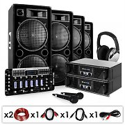 Set para DJ PA Bass First Pro 4000W
