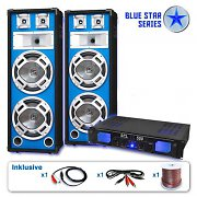 "PA Set Blue Star Series ""Bassveteran"" 1600 Watt"