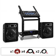 "Set DJ PA Rack Star Series ""Pluto Gravity"" 200 personnes"