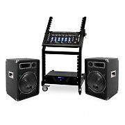 'Mercury Beat' Amplificador Altavoces DJ PA  Rack