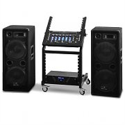 DJ PA Set Rack Star Series Mars Flash 400 Personen