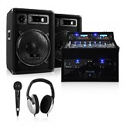 Set Rack Star Sol Lightning DJ PA 1200W