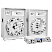 "Set DJ/PA White Star Series ""Arctic Frost"" 1600W"