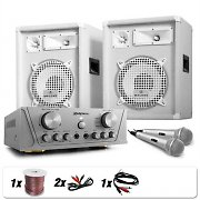 "Set DJ PA White Star Series ""Groenland Deluxe"" 800W"