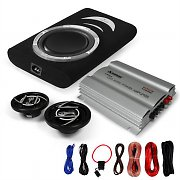 """Monza"" Set Car-Hifi 2.1 Subwoofer de alto nível"