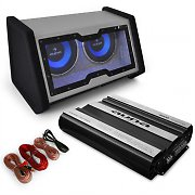 "auna Car Hifi Set ""Basstronaut"" 0.1 Set Subwoofer"