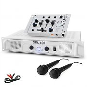 "SET DJ ""DJ-94"" Ampli Table de mixage Microphone 1200W"