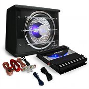 Black Line 100 - Car Hifi Set Subwoofer amplificador 1400W