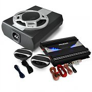 Black Line 340 - 2.1 Car Hifi Set colunas e amplificador
