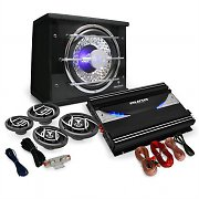 Auna Black Line 540 Set Car HiFi 4.1  5000W casse 3 vie