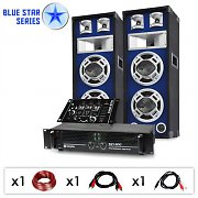 "DJ PA Set sono Blue Star Series ""Beatmix"" 1200 Watt"