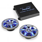 auna BeatPilot FX-202 Car-Audio-Set