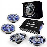 auna BeatPilot FX-413 Car-Audio-Set 6000W