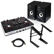 "Digital DJ Set ""One Starter"" DJ Controller, enceinte et support"
