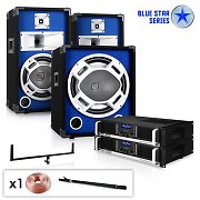 "Set DJ PA complet Blue Star Series ""Basscore"" 2300W"