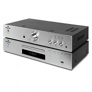 "auna ""Elegance Tower"" 2.0 Set ampli HiFi stereo + lecteur CD"