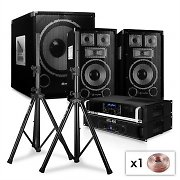 "Set PA 2.1 SaphirSeries ""After Hour"" 8-SPLUS Enceintes, ampli, subwoofer"