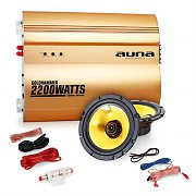 "Auna ""Golden Race V1"" Set car audio 2.0 2200 Watt"