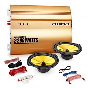 "Auna ""Golden Race V3"" Set car audio 2.0 2200W"