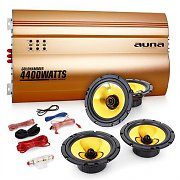 "Auna 4.0 ""Golden Race V4"" Set HiFi para coche"