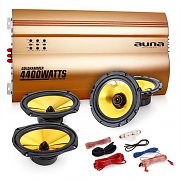 "Auna 4.0 ""Golden Race V5"" Set HiFi para coche"