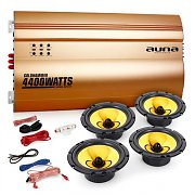 "Auna 4.0 ""Golden Race V6"" Set HiFi para coche"