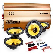 "Auna 4.0 ""Golden Race V7"" Set HiFi para coche"