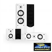 Auna Linie-300-WH 5.0 Home Cinema Altifalantes Surround Soundsystem 265W RMS