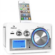 Auna Musio Internetradio Netzwerkplayer iPod WLAN mit Bluetooth Adapter