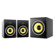 "Power Dynamics Galax Studio 2.1 Soundsystem mit 10""  Subwoofer & 6 "" Studioboxen"