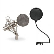 Auna Mikrofon Set 1x Studiomikrofon 1 x Pop-Filter