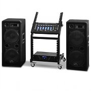 "Set PA da DJ della serie ""Mars Flash Bluetooth"" Rack Star"