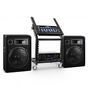 DJ PA Set Rack Star Series Venus Bounce 300 Personnes