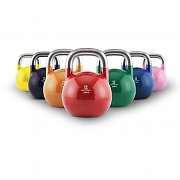 Capital Sports Compket Set Competition Kettlebell 7x Wettkampf-Kugelhantel Stahl