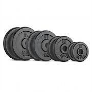 Capital Sports Bumpee 1,25 Bumper Plate Placa de Borracha Disco Peso 2 x 1,25kg