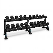 Capital Sports Dumbbell Rack Set support + 10 x paires haltères courts