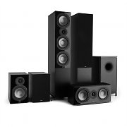 NUMAN Reference 851 5.1-Soundsystem negro con cover negro