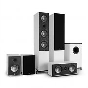 NUMAN Reference 851 5.1-Soundsystem blanco con cover negro
