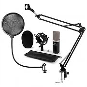 auna CM003 microphone-kit V4 à condensateur XLR perchette filtre anti pop
