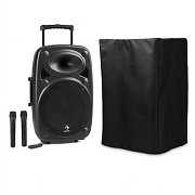 auna Streetstar 12 kit sono mobile housse de protection subwoofer Trolley BT USB