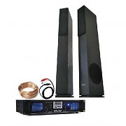 Home HIFI 1500W USB MP3 SD LED amplificador, altavoces