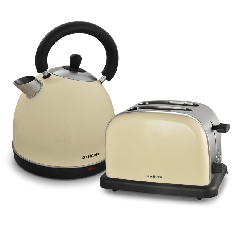 Wasserkocher toaster set retro
