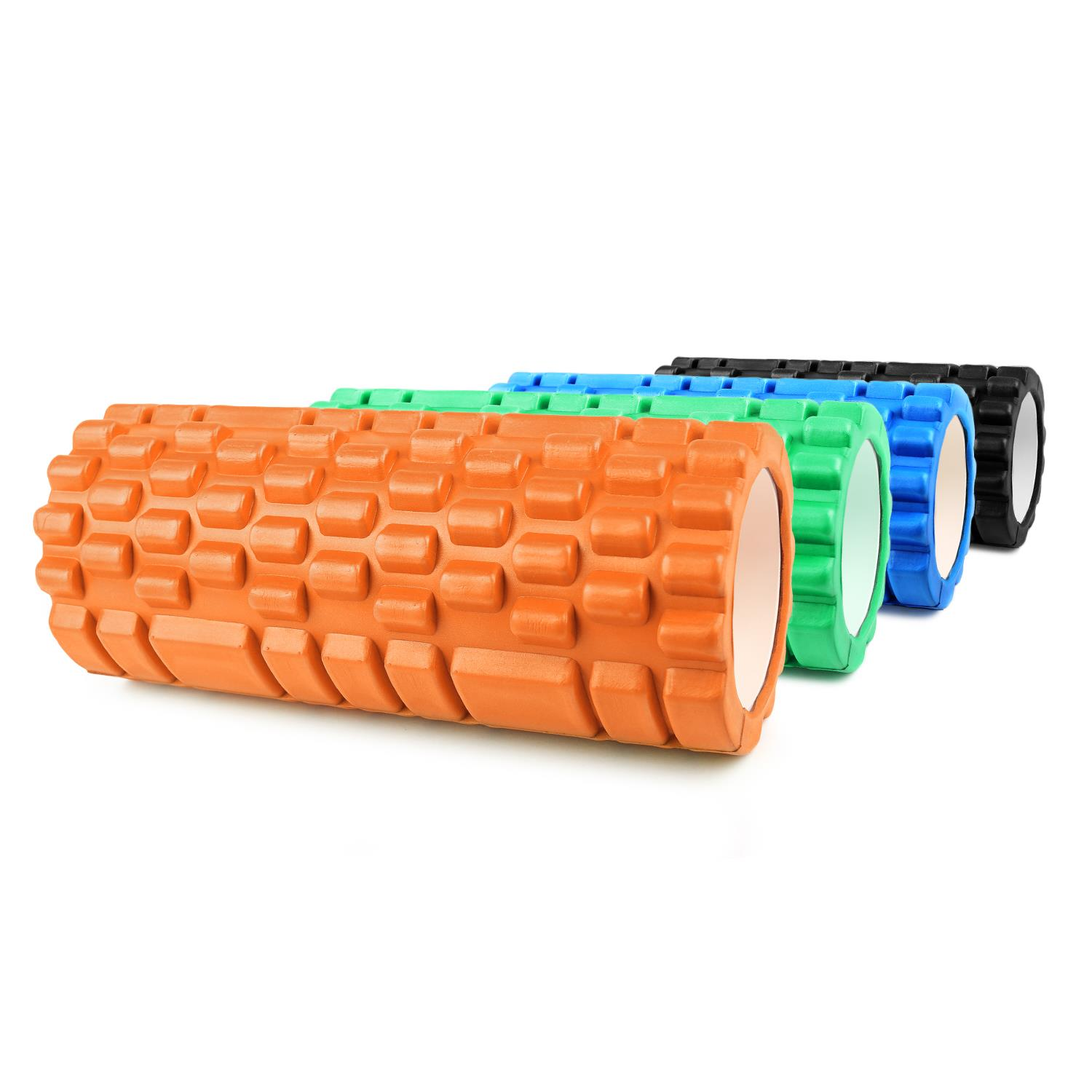 Rullo-Schiuma-Capital-Sport-Yoga-Pilates-Foam-Roller-Trigger-Point-Massaggio miniatura 2