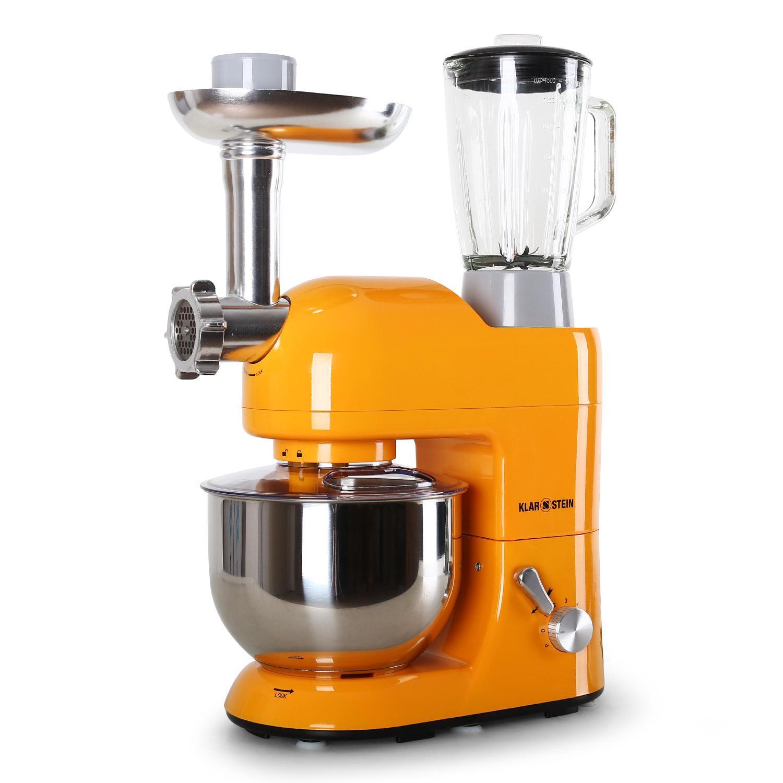 Robot De Cocina Multifuncion | Klarstein Robot De Cocina Picadora Carne Amasadora Batidora