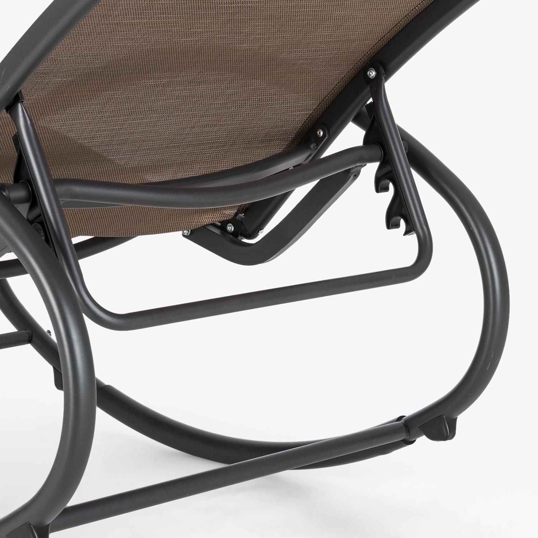 Sedie A Dondolo Per Terrazzo sedia sdraio basculante dondolo poltrona relax lettino